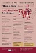 """Scuola Estiva """"Remo Bodei"""" 2021: Epistème"""