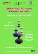 """Lessico Politico IV: atto II """"Cooperazione"""". Sabato 20/06 con Vittorio Morfino"""