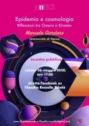 Epidemia e cosmologia. Il 30/05 diretta Facebook con Manuela Giordano