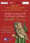 WE di studi classici e filosofici 9-10-11 ottobre 2020