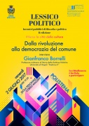 Gianfranco Borrelli: Dalla rivoluzione alla democrazia del comune