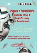 """Scienza e femminismo. Invito alla lettura di """"Manifesto cyborg"""" di Donna Haraway con Camilla Bernava (Roma Tre)"""